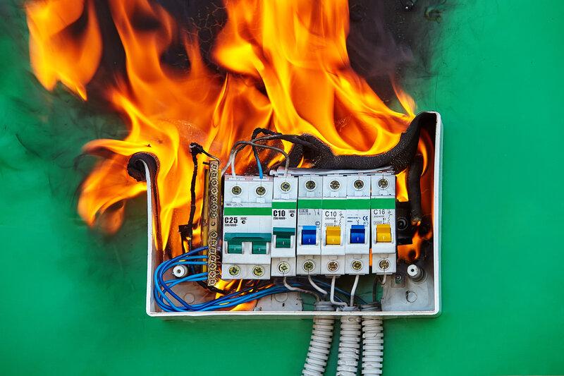 Home Inspection Covington Fire Hazard